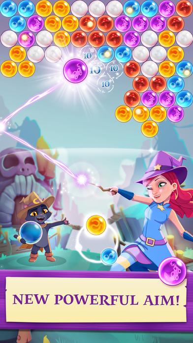скачать игру Bubble Witch Saga 3 img-1