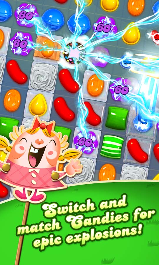 Candy crush saga king oyunu oyna
