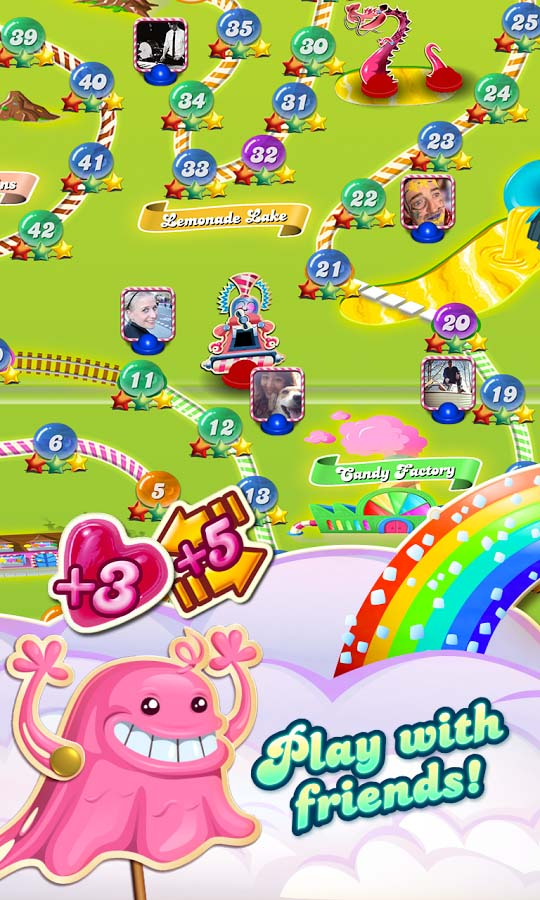 free online games no  required candy crush
