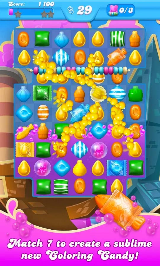 Another twist on the Candy Crush concept