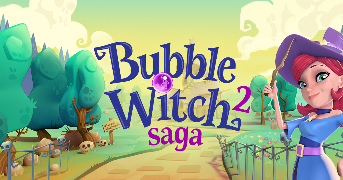 how to play bubble witch saga 2